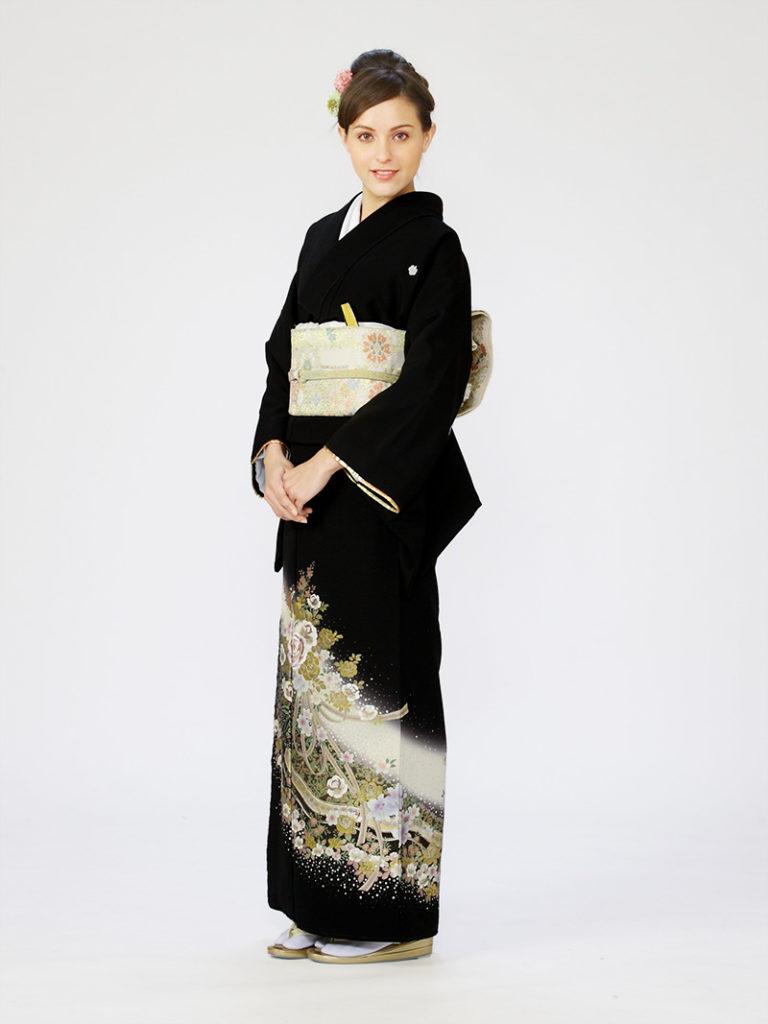 [留袖] E-4A005|まきやす・衣裳(ウエディング・ふりそで・袴など)のレンタル(豊川・豊橋・岡崎・東浦)