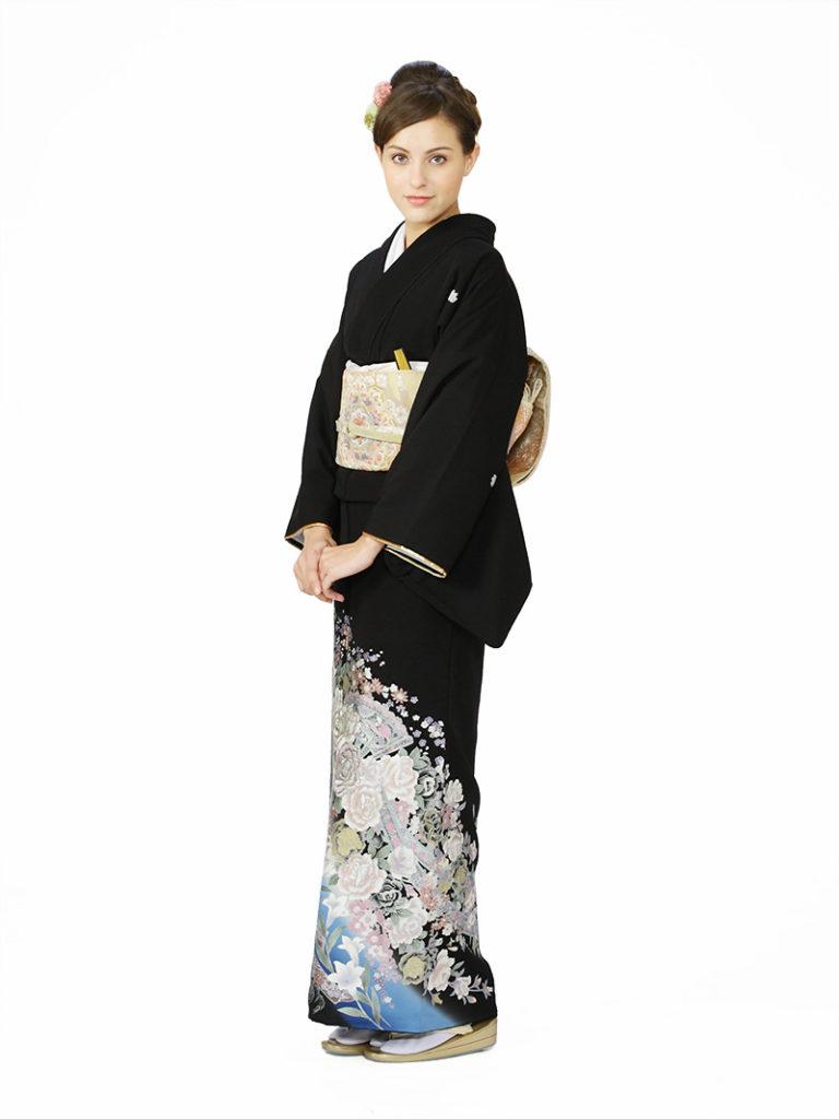 [留袖] E-4A004|まきやす・衣裳(ウエディング・ふりそで・袴など)のレンタル(豊川・豊橋・岡崎・東浦)