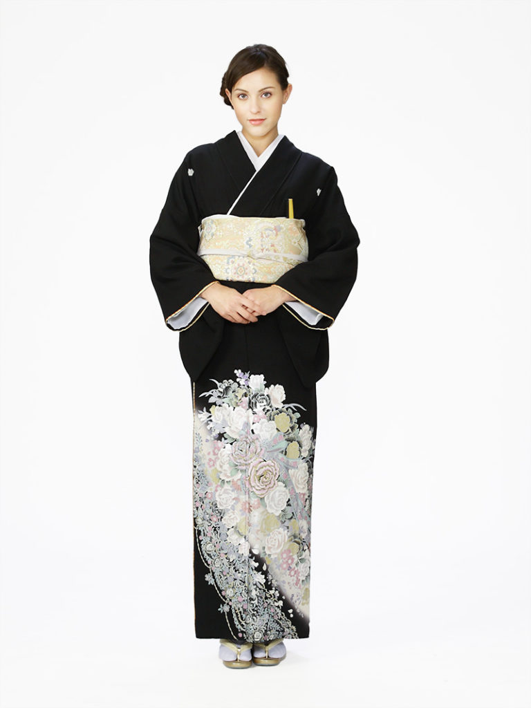 [留袖] E-4A006|まきやす・衣裳(ウエディング・ふりそで・袴など)のレンタル(豊川・豊橋・岡崎・東浦)