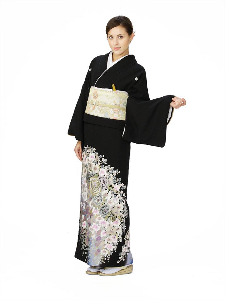[留袖] E-4A007|まきやす・衣裳(ウエディング・ふりそで・袴など)のレンタル(豊川・豊橋・岡崎・東浦)