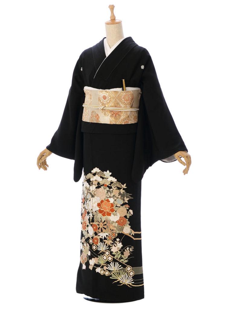 [留袖] 8MT-001|まきやす・衣裳(ウエディング・ふりそで・袴など)のレンタル(豊川・豊橋・岡崎・東浦)