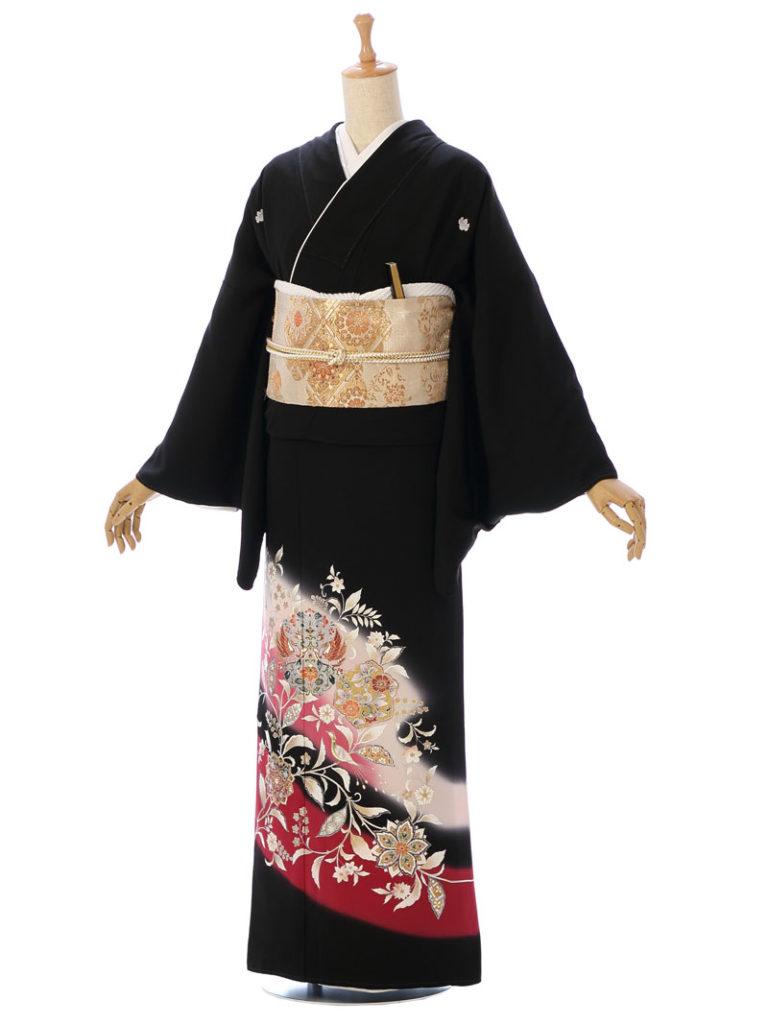 [留袖] 8MT-002|まきやす・衣裳(ウエディング・ふりそで・袴など)のレンタル(豊川・豊橋・岡崎・東浦)
