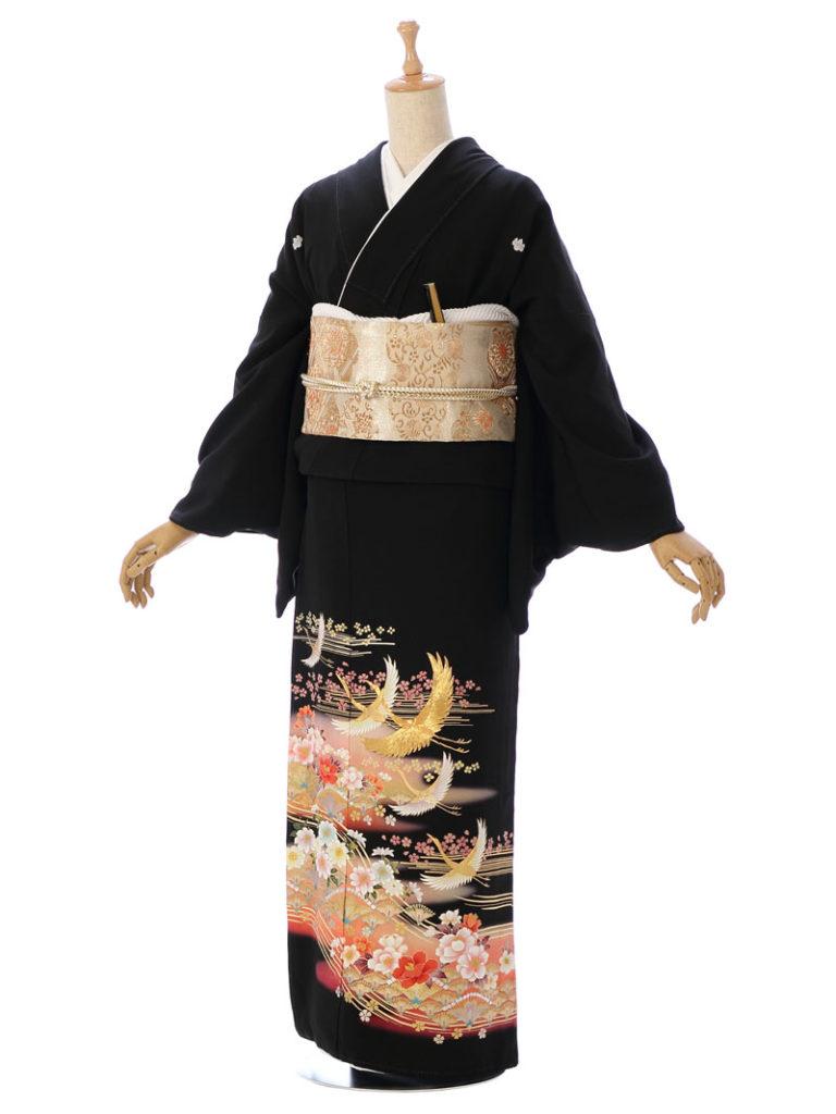[留袖] 8MT-003|まきやす・衣裳(ウエディング・ふりそで・袴など)のレンタル(豊川・豊橋・岡崎・東浦)