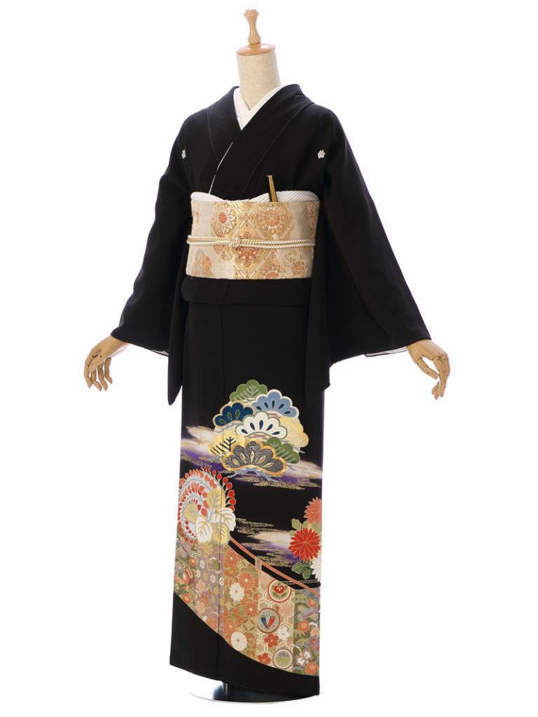 [留袖] MP-0009|まきやす・衣裳(ウエディング・ふりそで・袴など)のレンタル(豊川・豊橋・岡崎・東浦)