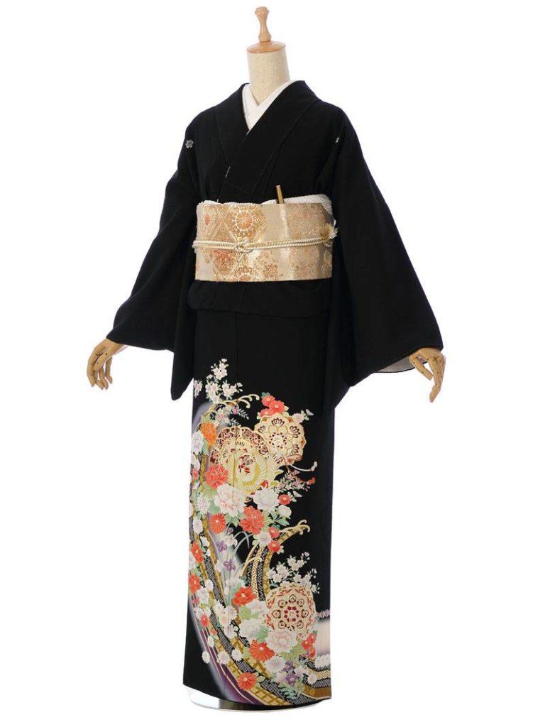 [留袖] MT-003|まきやす・衣裳(ウエディング・ふりそで・袴など)のレンタル(豊川・豊橋・岡崎・東浦)