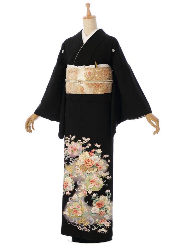 [留袖] MT-005|まきやす・衣裳(ウエディング・ふりそで・袴など)のレンタル(豊川・豊橋・岡崎・東浦)