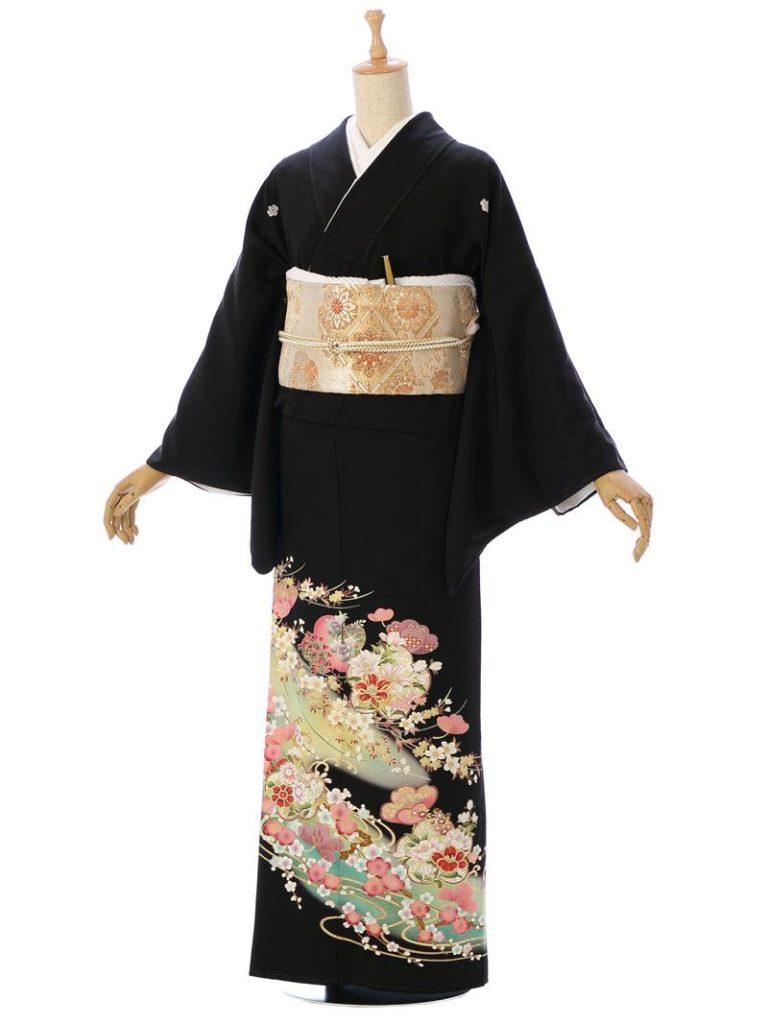 [留袖]MT-006|まきやす・衣裳(ウエディング・ふりそで・袴など)のレンタル(豊川・豊橋・岡崎・東浦)