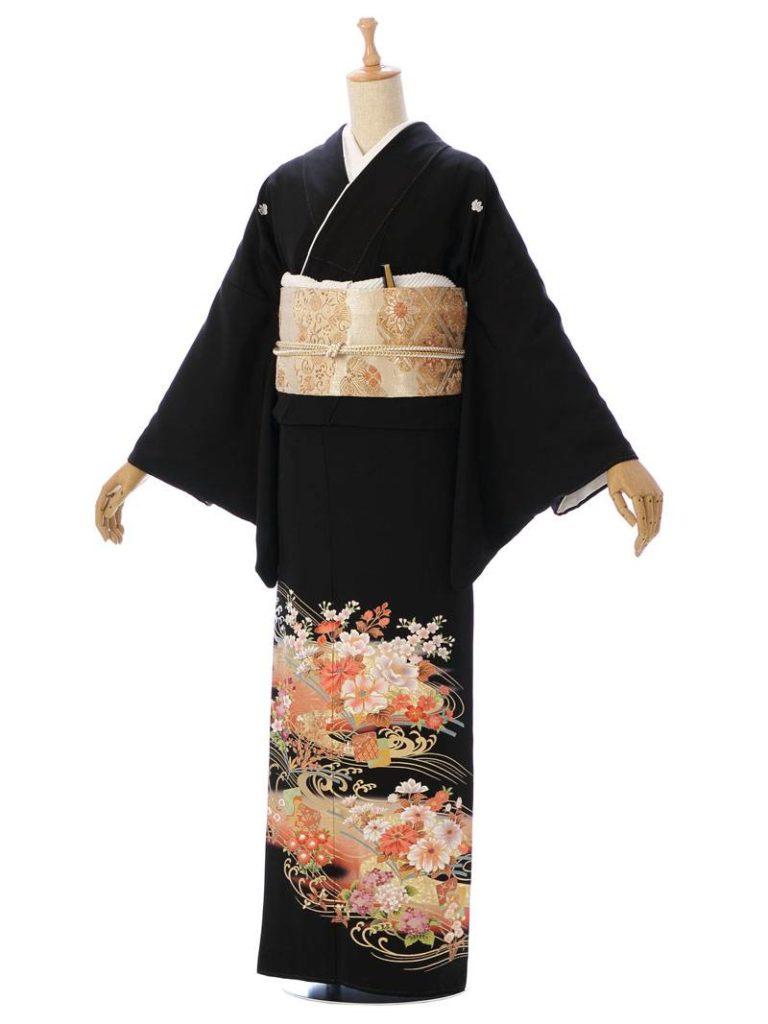 [留袖] MT-014|まきやす・衣裳(ウエディング・ふりそで・袴など)のレンタル(豊川・豊橋・岡崎・東浦)