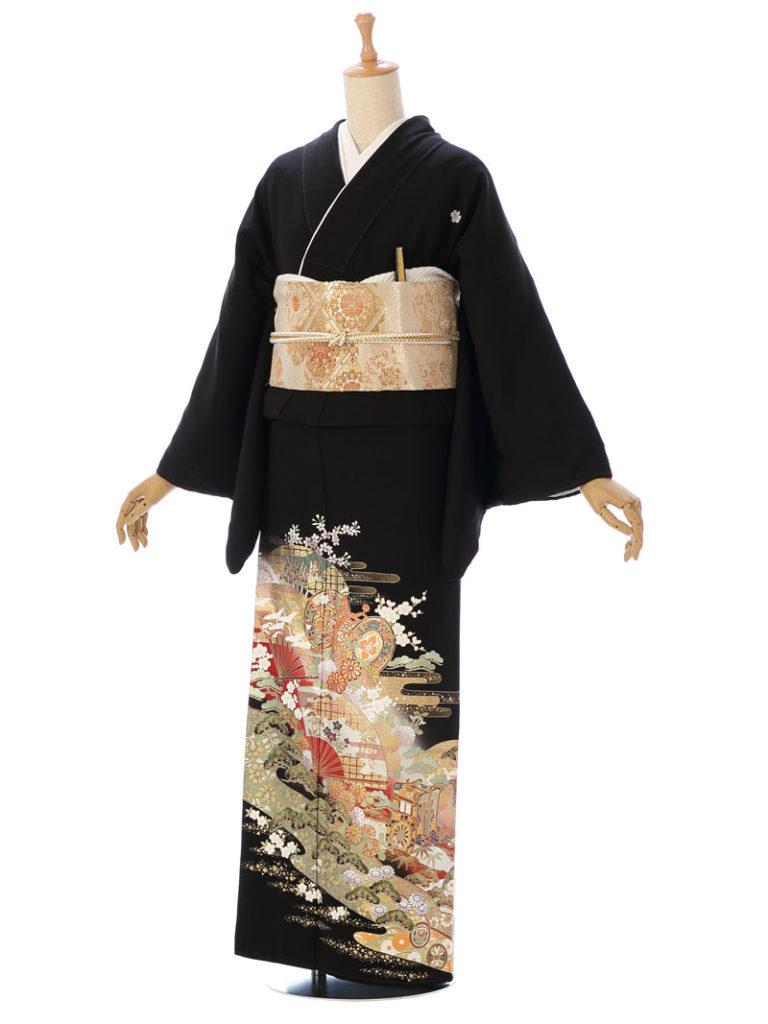 [留袖] MT-031|まきやす・衣裳(ウエディング・ふりそで・袴など)のレンタル(豊川・豊橋・岡崎・東浦)