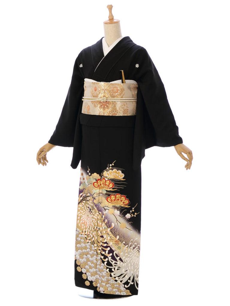 [留袖] MT-035|まきやす・衣裳(ウエディング・ふりそで・袴など)のレンタル(豊川・豊橋・岡崎・東浦)