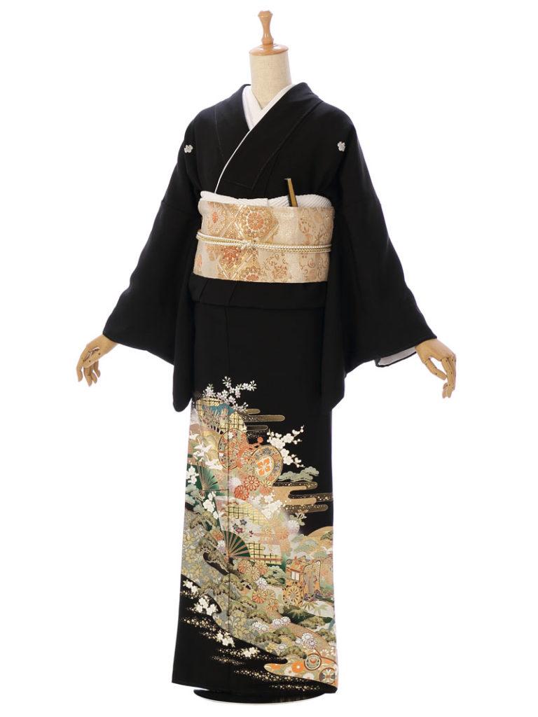 [留袖] MT-038|まきやす・衣裳(ウエディング・ふりそで・袴など)のレンタル(豊川・豊橋・岡崎・東浦)