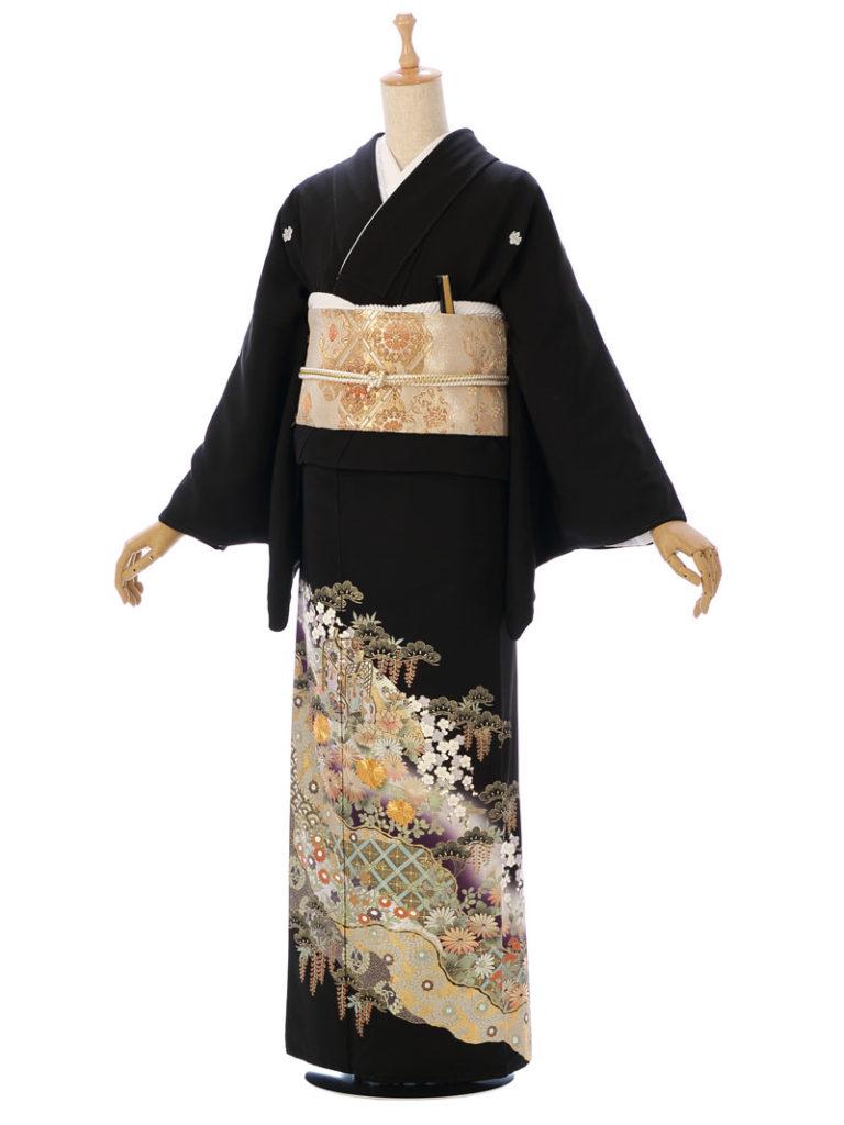 [留袖]MT-039|まきやす・衣裳(ウエディング・ふりそで・袴など)のレンタル(豊川・豊橋・岡崎・東浦)