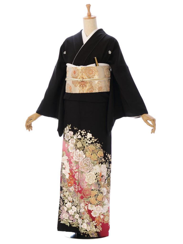 [留袖] MT-040|まきやす・衣裳(ウエディング・ふりそで・袴など)のレンタル(豊川・豊橋・岡崎・東浦)