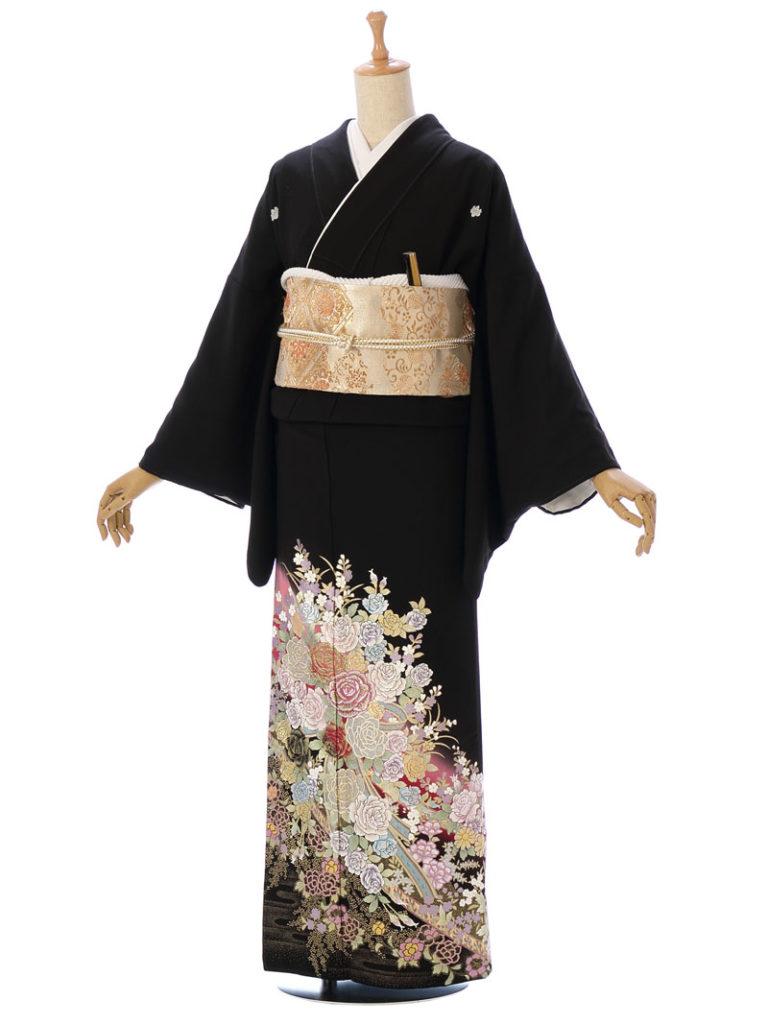 [留袖]MT-042|まきやす・衣裳(ウエディング・ふりそで・袴など)のレンタル(豊川・豊橋・岡崎・東浦)